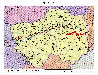 小:36k; 繁峙县地图图片